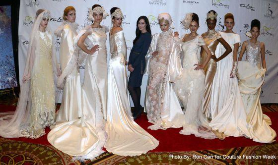 isabel zapardiez presenta sus trajes de novia en nueva york   país