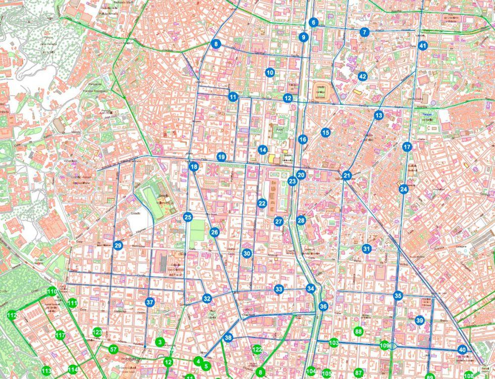Madrid Amplia La Bicicleta Publica A Toda La Almendra Central