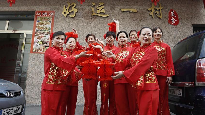 Vestidos fiesta chinos madrid