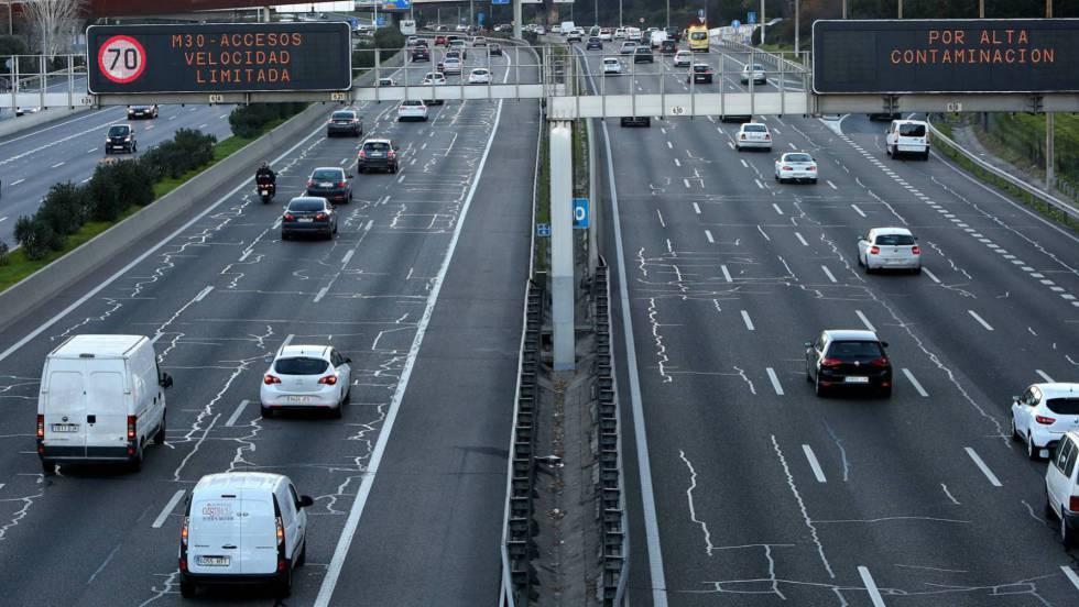 Desciende la contaminación cuando se reduce la velocidad del tráfico ...