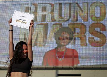 Bruno Mars, la buena causa de la sonrisa