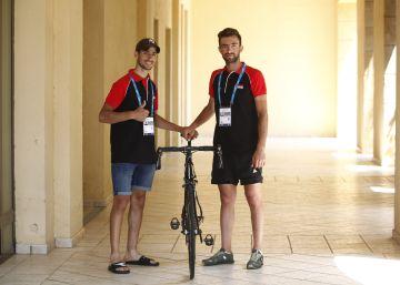 Las tribulaciones de un ciclista sirio en Tarragona