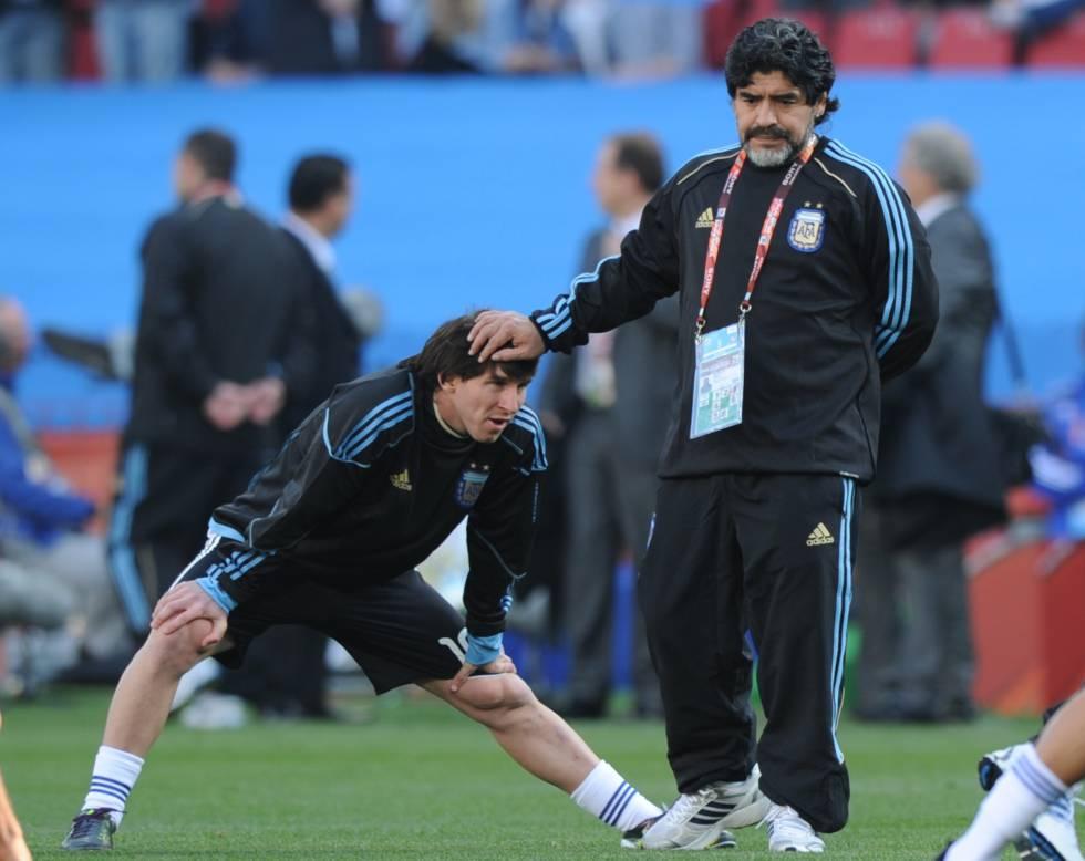 La Crónica Messi Maradona Cataluña El País