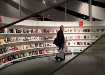 De compras literarias por Fráncfort
