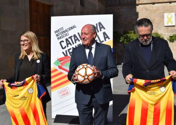 La selección catalana de fútbol ya no juega solo en Navidad