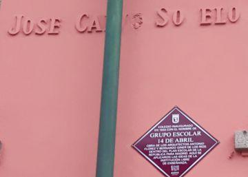 Restituyen simbólicamente el nombre 14 de abril al colegio público madrileño José Calvo Sotelo