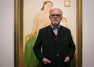 El Botero pintor 'torea' en Barcelona