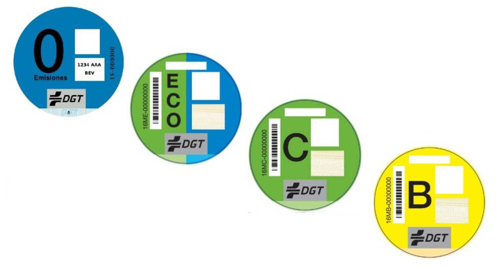 Qué etiqueta ambiental es obligatoria para tu vehículo?   Madrid   EL PAÍS