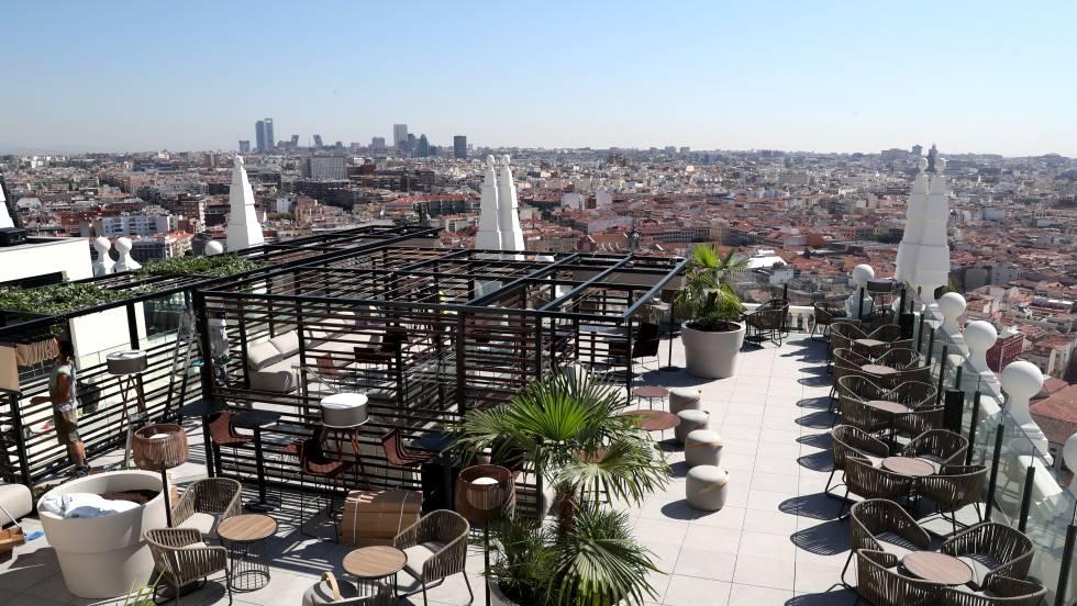 Así Se Ve Madrid Desde La Terraza Del Hotel Riu Plaza De