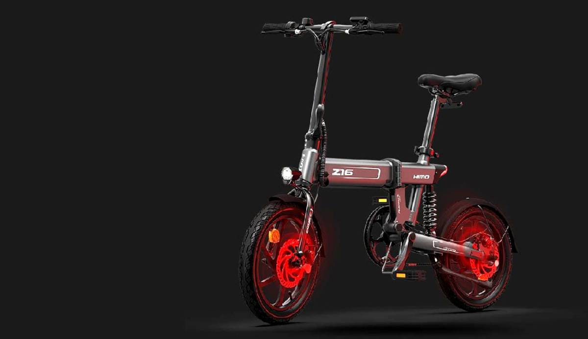 Xiaomi presenta su HIMO Z16, la bici eléctrica plegable con batería extraíble