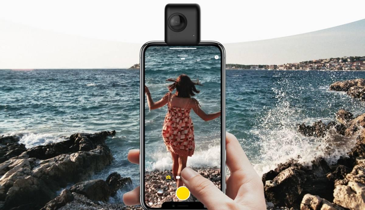 Nueva Insta360 Nano S 4K, la cámara 360º compacta de Xiaomi para tu iPhone