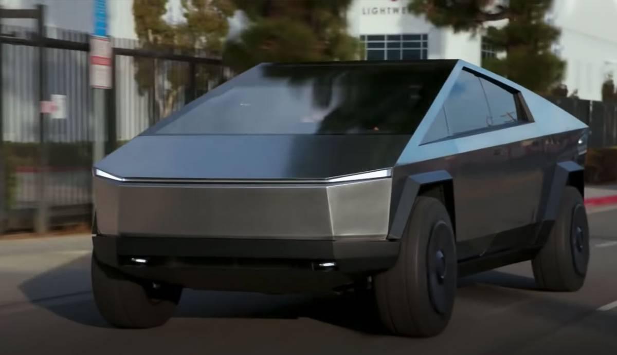 El Tesla Cybertruck aparece, en vivo y en directo, en un programa de TV
