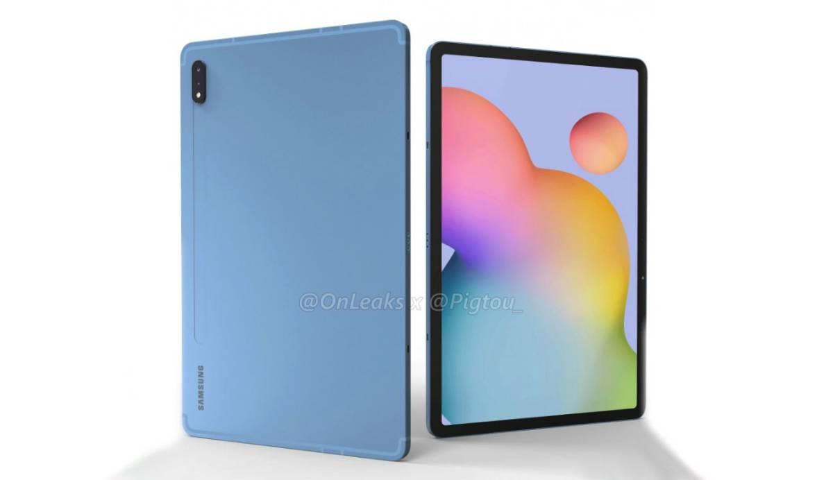 Galaxy Tab S7: se filtra cómo serán las nuevas tablets de Samsung