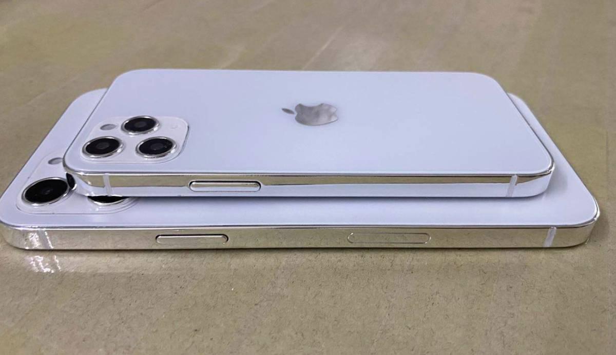 Estas son las fotos que confirman los cambios de diseño en los iPhone 12