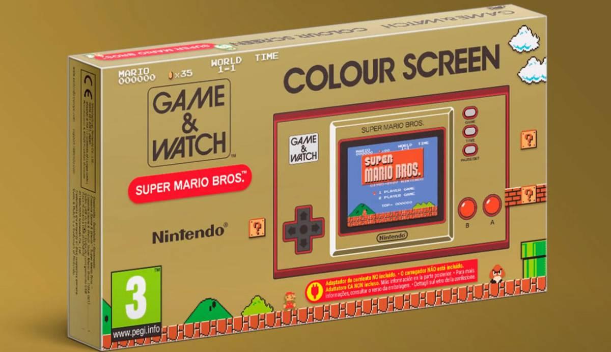 Nintendo presenta una nueva Game & Watch con juegos clásicos de Mario