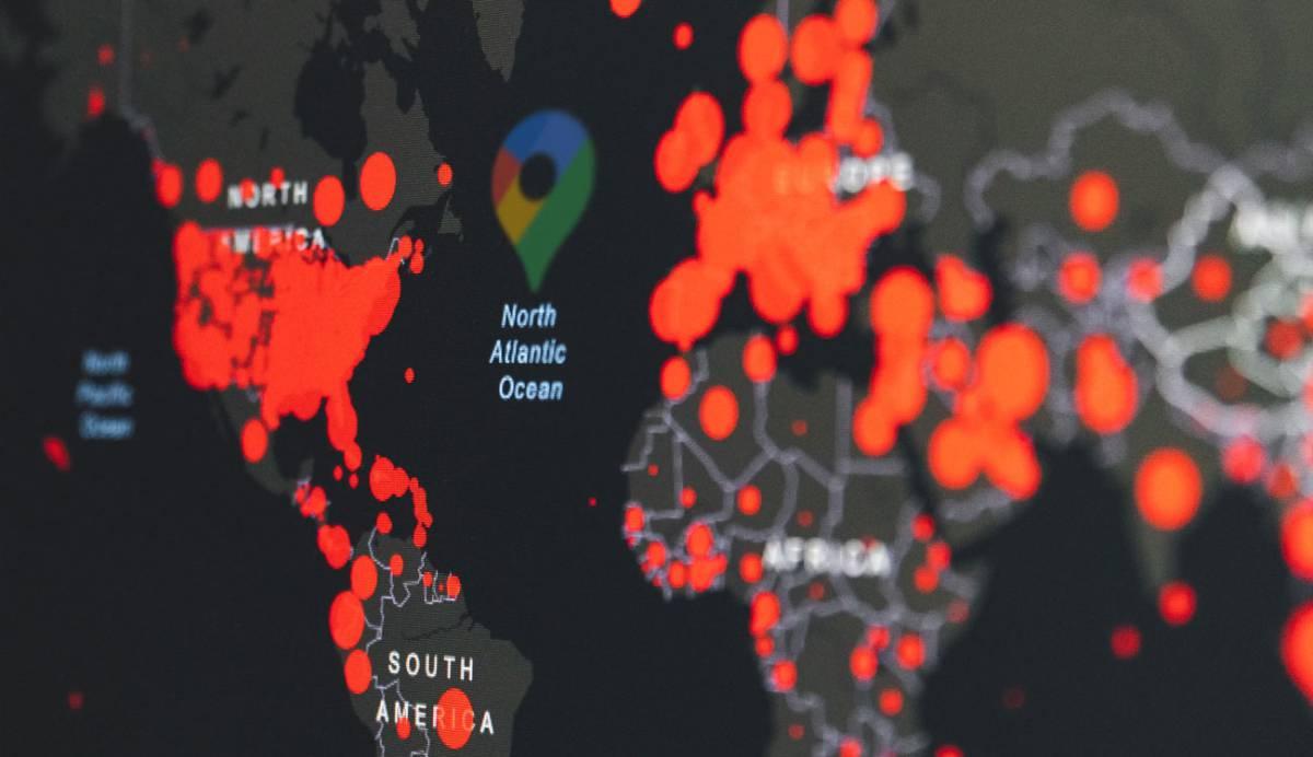 Google Maps trabaja para mostrar una capa de 'información Covid-19'