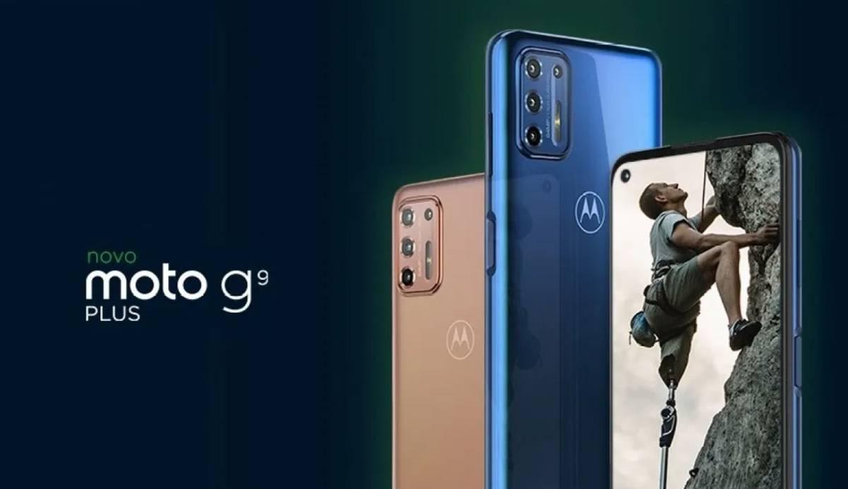 Motorola presenta su nuevo Moto G9 Plus: gran pantalla y mejor batería