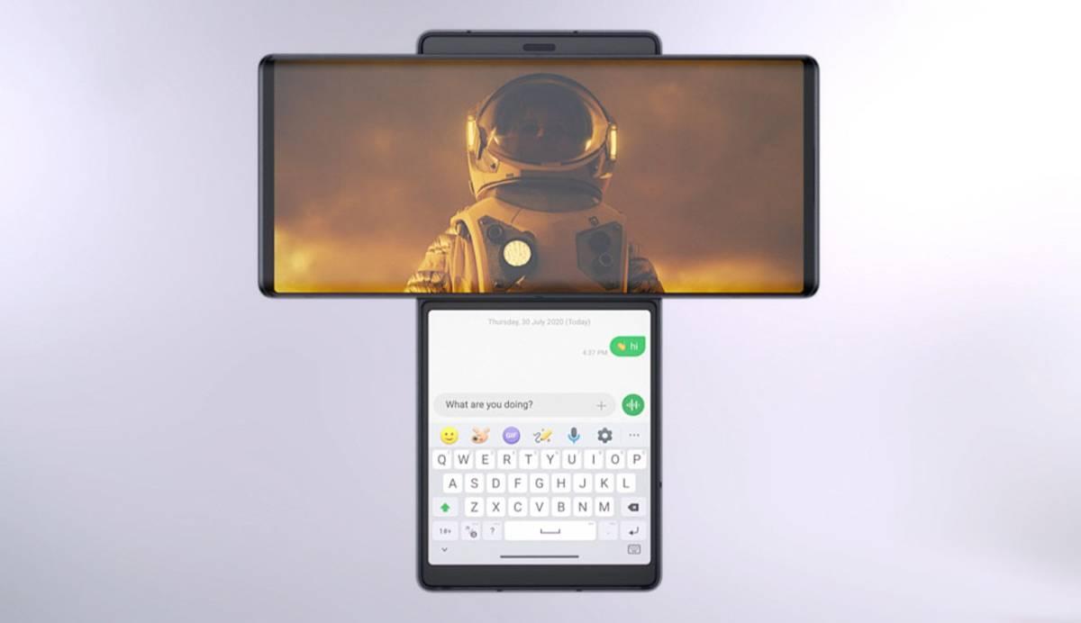 Nuevo LG Wing: un sorprendente smartphone con pantalla giratoria