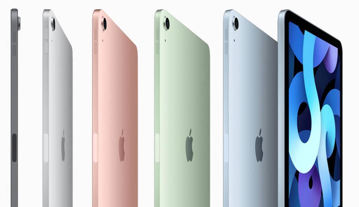 Nuevos iPad y iPad Air con más colores, potencia y un diseño remozado