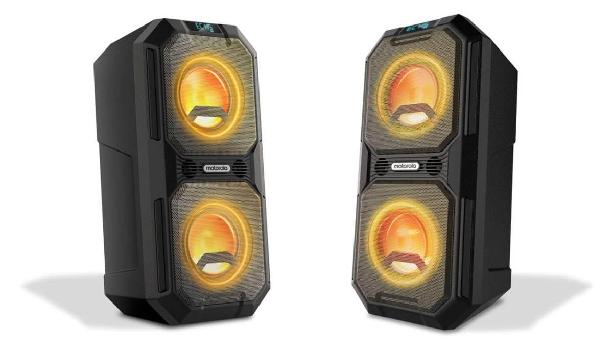 Motorola Sonic Maxx 820: potencia, autonomía y luces para ser el alma de la fiesta