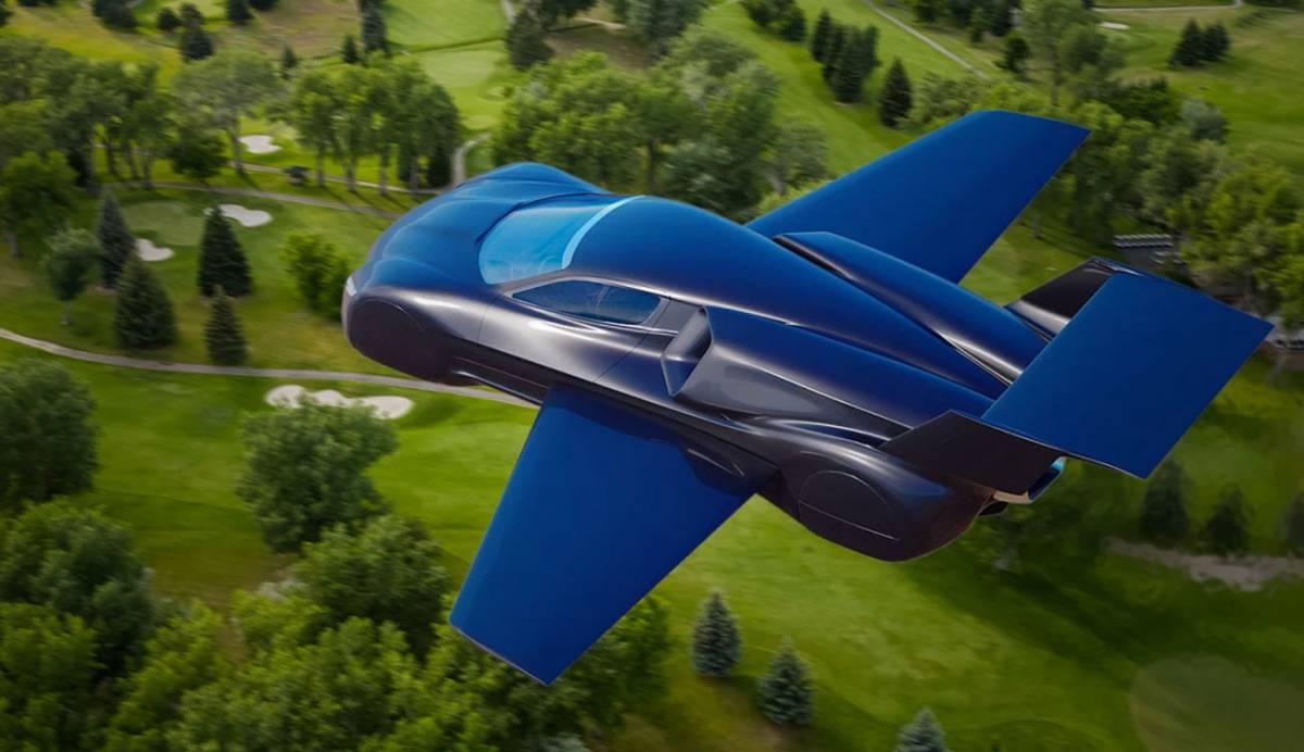 Firenze Lanciare, un coche deportivo volador que corre por cielo y tierra