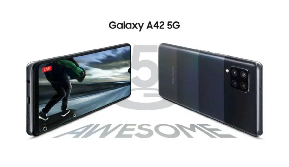 Galaxy A42: el móvil con 5G más barato de Samsung llega a España