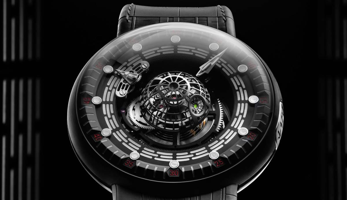 Este reloj de la Estrella de la Muerte no es inteligente, pero lo querrás tener igual