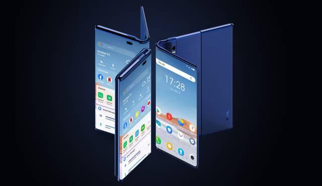 TCL Fold 'n Roll: así es el primer smartphone que se dobla y enrolla a la vez