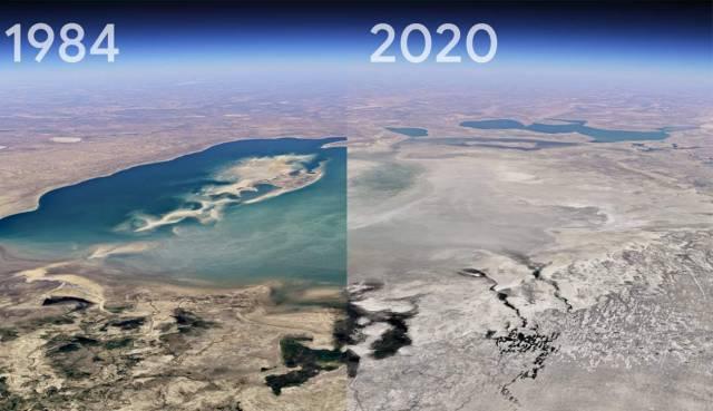 Google Earth Time-lapse: viaja 37 años atrás en el tiempo y mira cómo ha cambiado el planeta