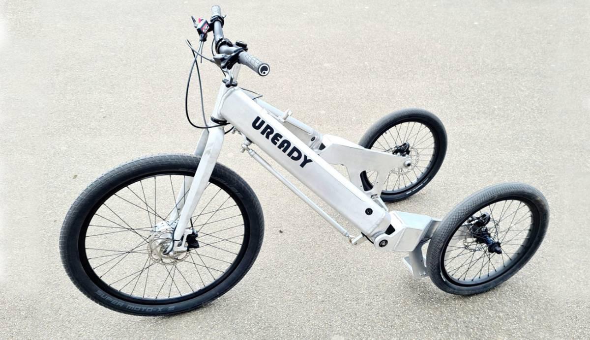 E-Trike, el triciclo eléctrico que busca tu apoyo para llevar su loca idea al mercado