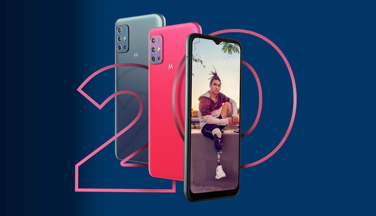 El Motorola G20 llega a España, características, precio y disponibilidad