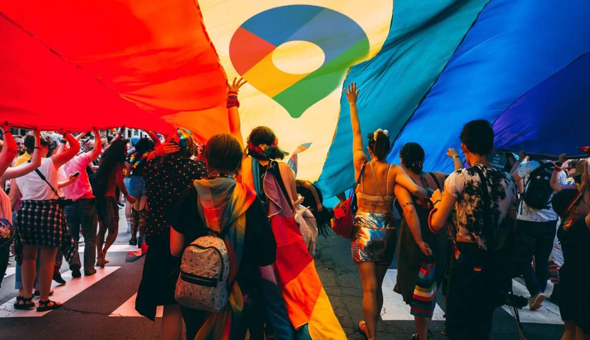 Google Maps se actualiza en el mes del 'Orgullo' para dar cabida a lugares más inclusivos