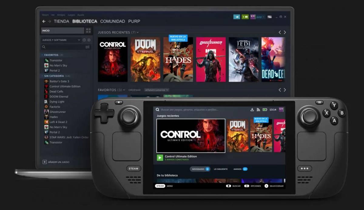 Valve presenta Steam Deck: el PC convertido en consola a imagen y semejanza de Switch