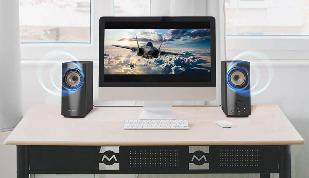 Creative T60: los altavoces diseñados para videojuegos que suben el nivel en PC y Mac