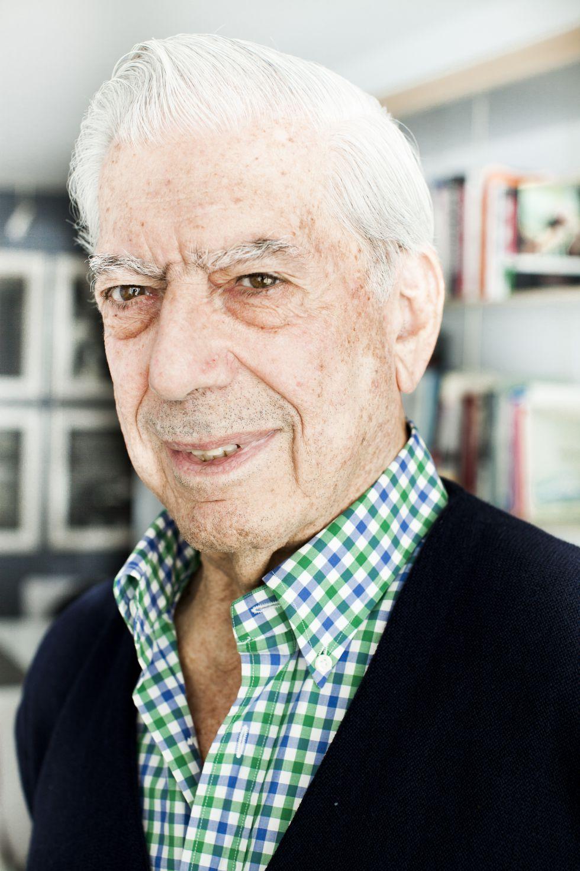 """Mario Vargas Llosa: """"No tengo talento natural. Me cuesta escribir ..."""