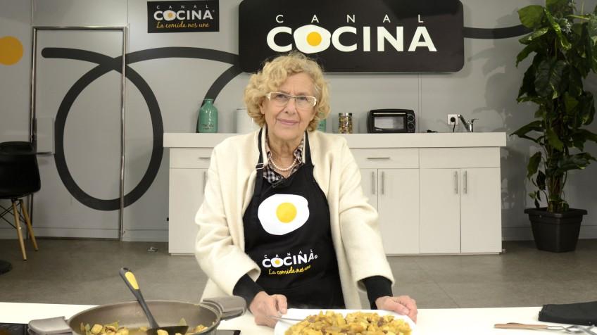 Manuela Carmena, chef estrella en Canal Cocina | Televisión | EL PAÍS