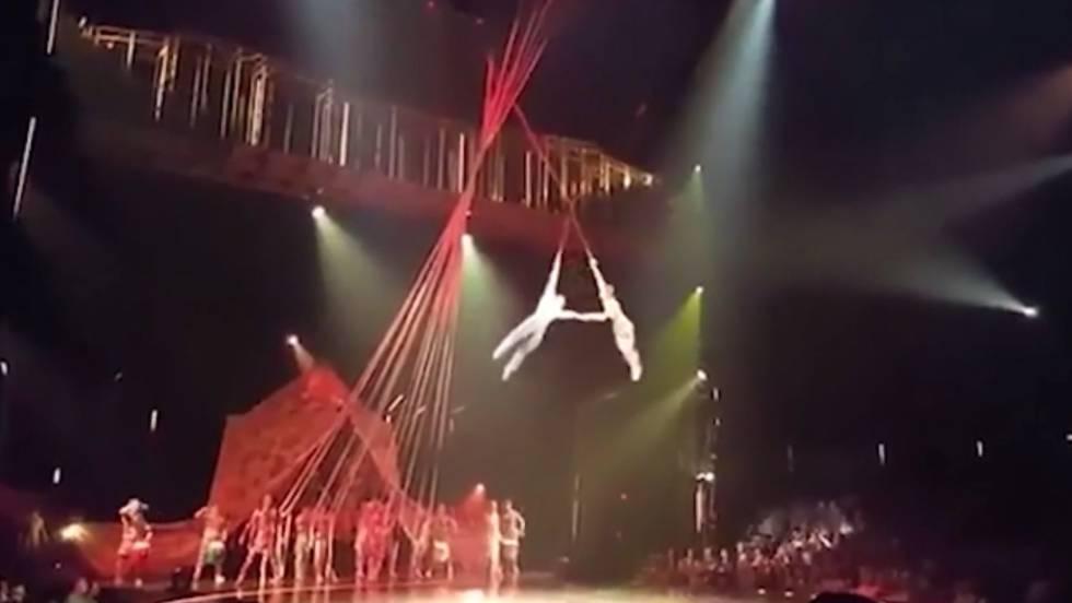 Circo Del Sol Un Acróbata Del Cirque Du Soleil Muere En Una Caída Durante Una Actuación En Florida Cultura El País