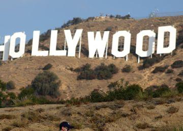 Un teleférico hacia el cartel de Hollywood