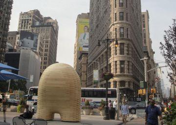 Una escultura monumental para conectar con las leyes de la naturaleza