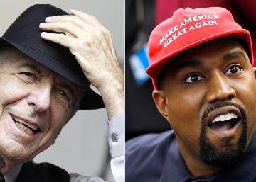 Leonard Cohen y el aberrante Kanye West