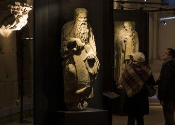 Las estatuas del Pórtico de la Gloria que los Franco ocultan en su inmobiliaria
