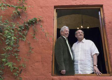 Vargas Llosa y Rushdie, la vida en lecturas