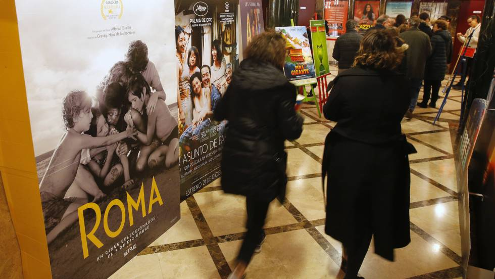 El éxito de  Roma  en salas impulsa a Netflix y a los exhibidores a  negociar  c4fbc96ad74f