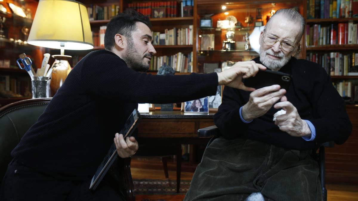 El abuelo y el nieto del terror español