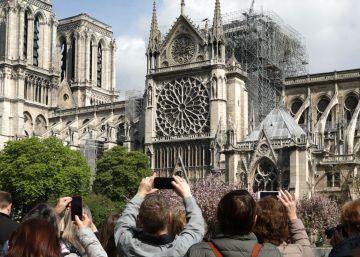 Las grandes donaciones para reconstruir Notre Dame no tendrán beneficios fiscales especiales