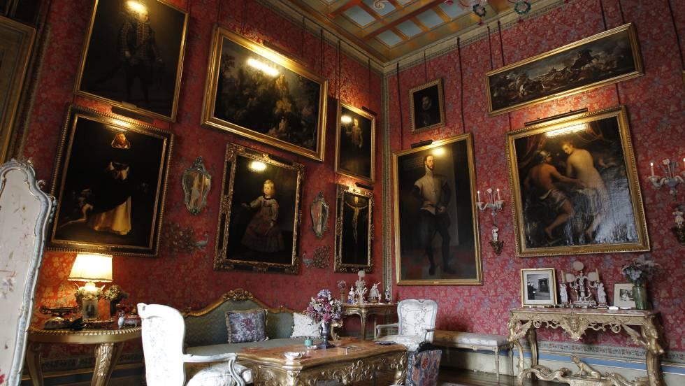 Resultado de imagen para El palacio neoclásico de Liria