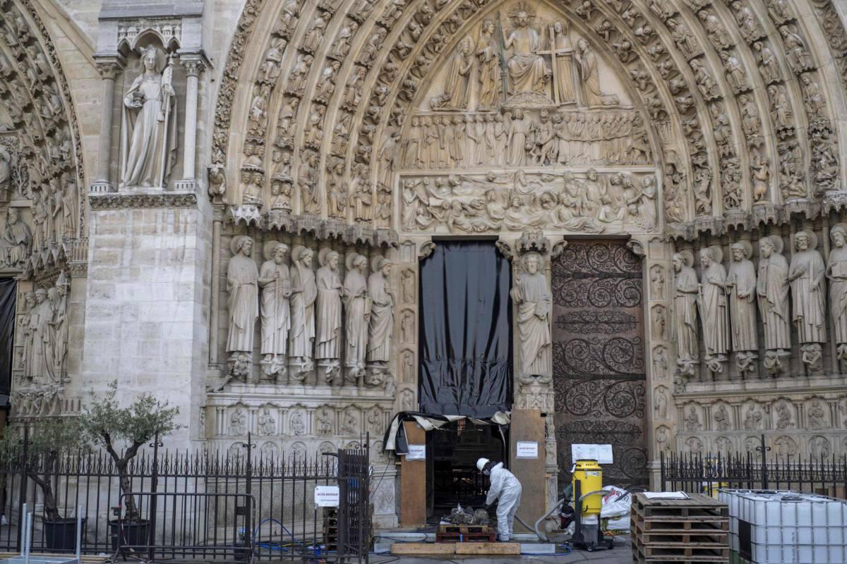 El hombre que debe reconstruir Notre Dame | Cultura | EL PAÍS