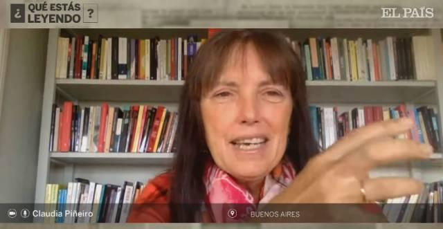 ¿Qué lee Claudia Piñeiro en confinamiento?