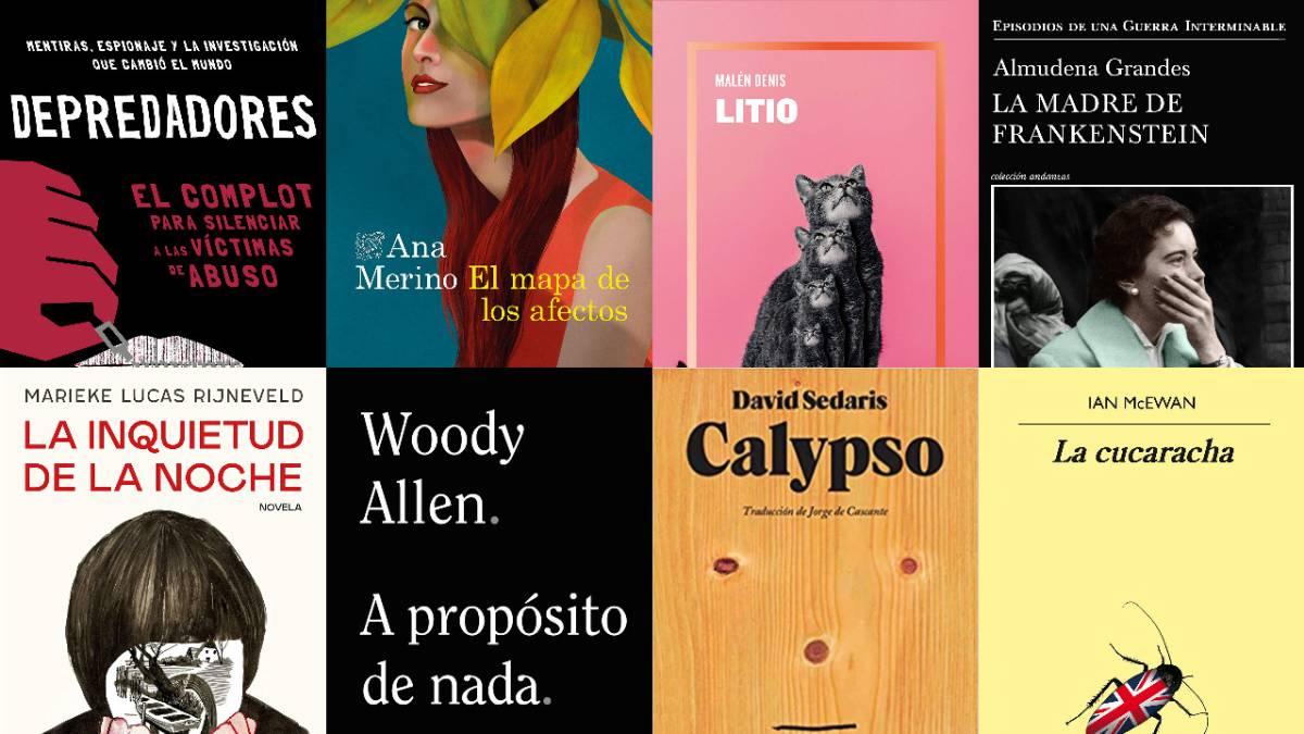 Juzgar un libro por su portada: las mejores cubiertas de la primavera