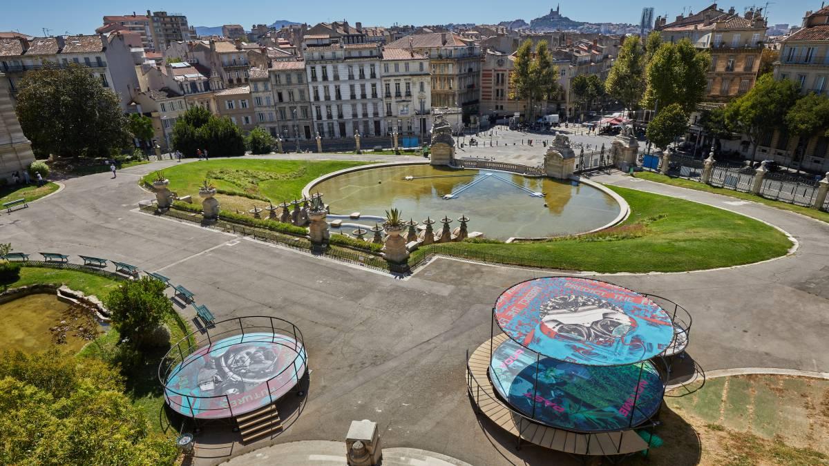 Marsella, radiante y circular